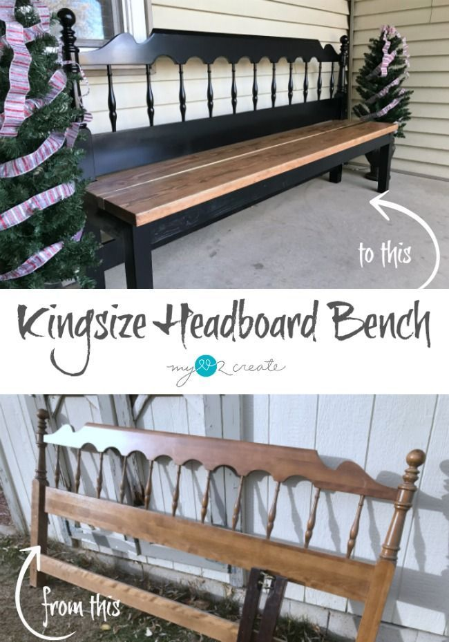How to build a kingsize headboard bench (easy step by step tutorial)