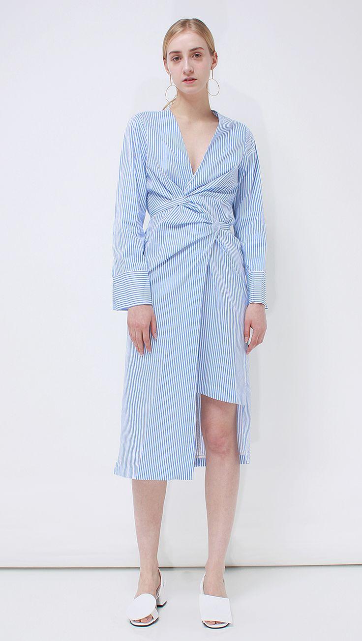 Martina Shirt Dress   LOÉIL