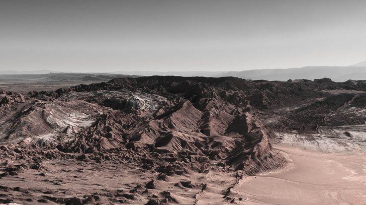 Coordillera de la Sal, San Pedro de Atacama.