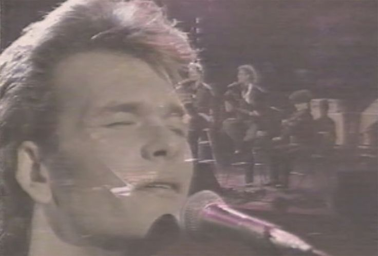 You probably didn't know that Patrick Swayze can sing because we all knew him as an American actor playing rough roles during the 80's.