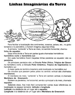 ATIVIDADES DE GEOGRAFIA 4° ANO FUNDAMENTAL EXERCÍCIOS IMAGENS PARA IMPRIMIR IX | PORTAL ESCOLA