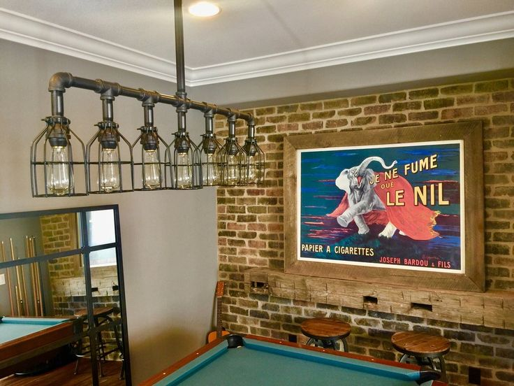 The 25 best industrial pool table lights ideas on pinterest rustic industrial edison bulb iron pipe pool table light keyboard keysfo Image collections
