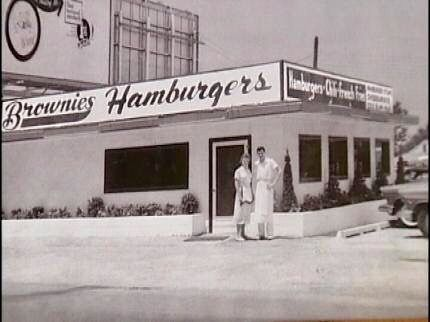 Brownies Hamburgers, Tulsa, OK. 1950's