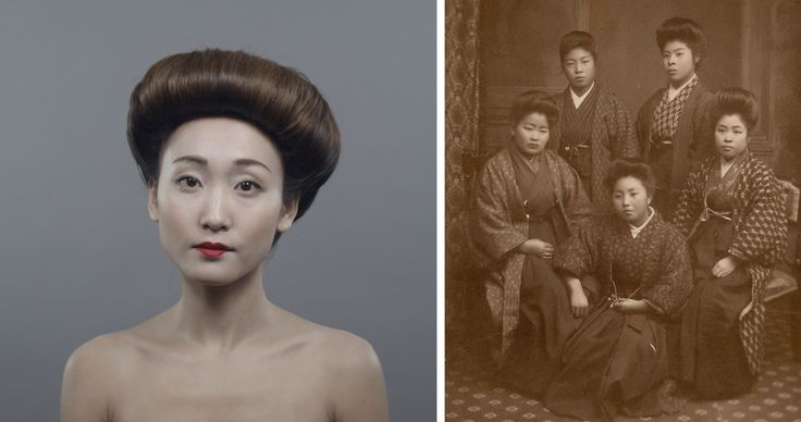 100 Years of Beauty - Japan #1910s #hair #style #fashion #makeup