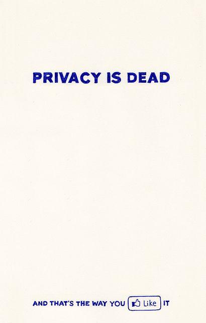 #Privacy #Dead #Facebook