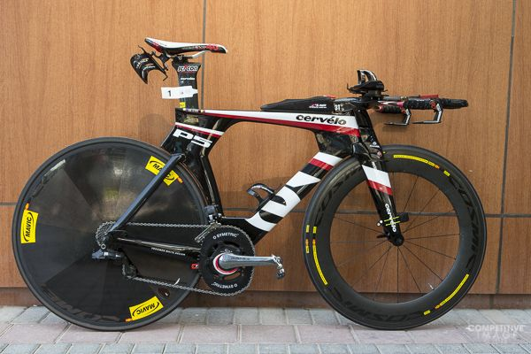 Pro bikes from Abu Dhabi International Triathlon