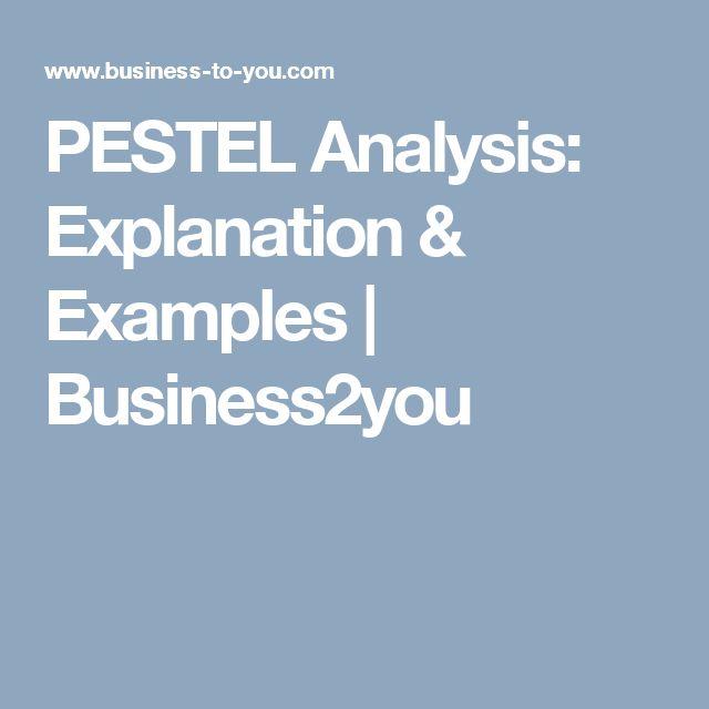 The 25+ best Pestel analysis example ideas on Pinterest Pestel - pest analysis