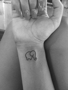 baby elephant tattoos - Google Search