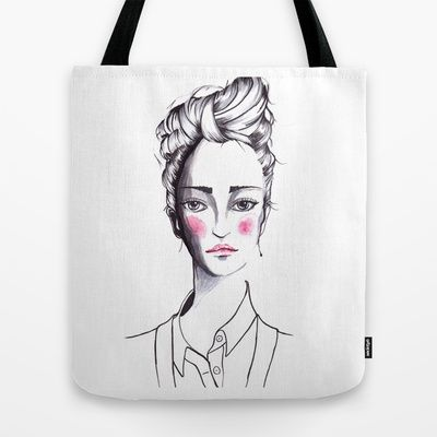 Rose Tote Bag by ValeriaZ illustration - $22.00