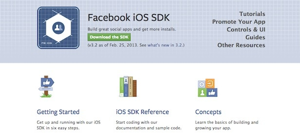 Facebook SDK 3.2 For iOS Now Available