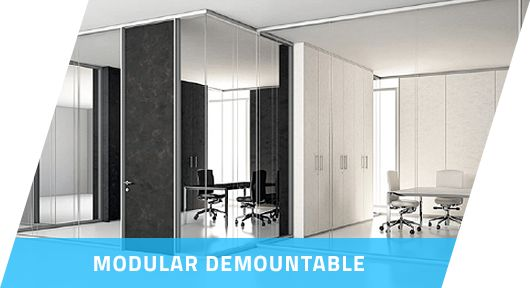 Office Demountable Partition Systems | Modular Residential Furniture - Damian Corporate  Damian is leading trusted name in interior designing industry and Modular Residential Furniture. Damian corporate offers office demountable partition system at an affordable price.