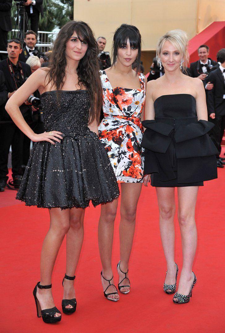 Pin for Later: Retour Sur les Premiers Tapis Rouges de Vos Célébrités Françaises Préférées Geraldine Nakache, Leila Bekhti, et Audrey Lamy - 2010
