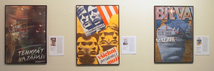 Once Upon a Time in the West, All the President's Men & Battle of Algiers (Czech posters)