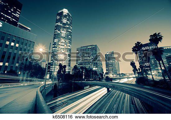 Banque d'Images - autoroute, trafic, dans, ville angeles los k6508116 - Recherchez des Photos, des Images, des Photographies et des Clip Arts - k6508116.jpg