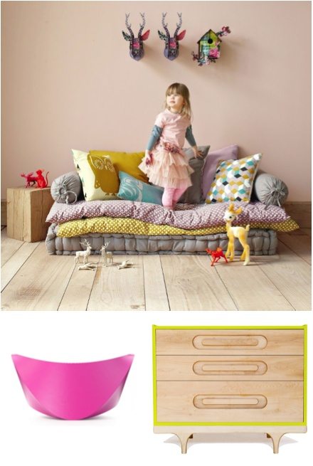 25 Cute and Cozy Kids Reading Nooks Floor cushions, Nooks and Patterns