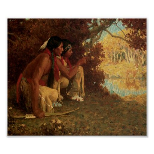 Native American Indians Deer Hunting. An art that has fed this country way before the invention of the crossbow, the firearm, or even the bow. Think about it before you say its barbaric.
