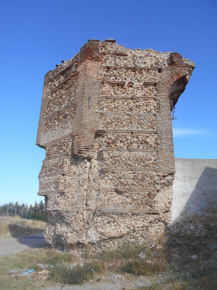 Torre albarrana entre Puertas de Medina  y Cantalapiedra.