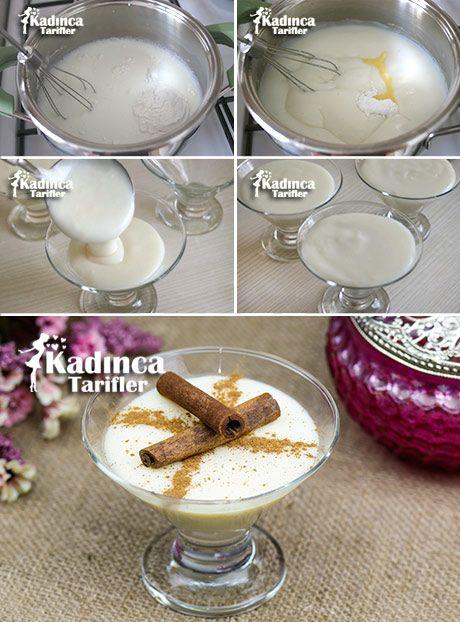 Pirinç Unlu Muhallebi Tarifi