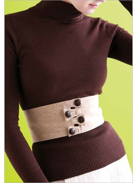 Button Flap Belt  Sophisticated and understated, this belt elevates even the most ho-hum outfit.    Erin Gilday  eProject  Write a review  $4.00  Availability: Download Now