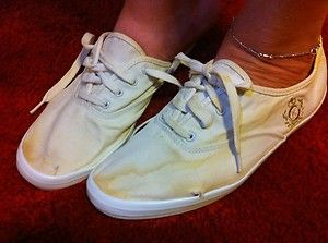 Well Worn Keds | Well Worn Trashed Canvas Keds Tennis Shoes...Nothing like'em