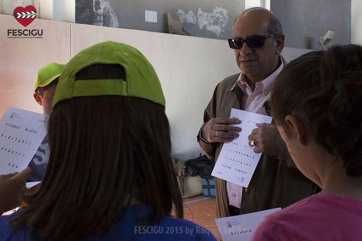 Gymkana Sensorial con alumnos de Primaria en colaboración con CEIP Las Lomas y ONCE Guadalajara. Foto: Raquel Salillas.