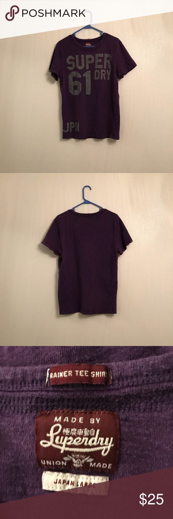 Super Dry Trainer Tee Shirt Japan Large Super Dry Trainer Tee Shirt Men's Japan Large Good Used Condition has a Distressed look to it Super Dry Shirts Tees - Short Sleeve