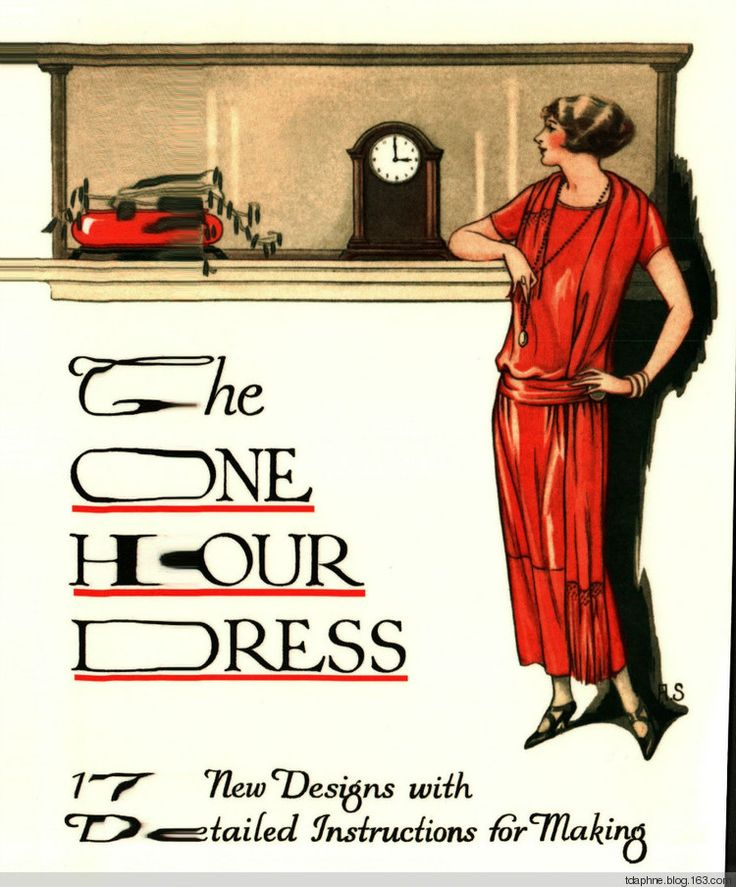 DIY 1920: The One Hour Dress (full instructions) I would love to try to make this!
