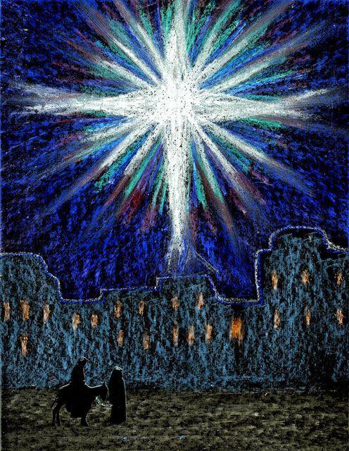 Stushie Christmas art: Light of the World « Stushie's Art