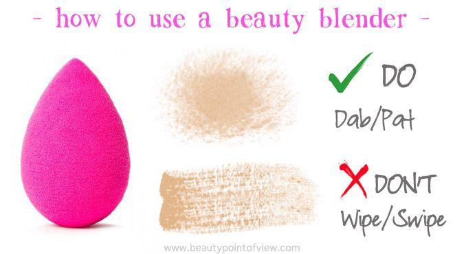 Beauty Blender Tips & Tricks - learn how to make the most of your Beauty Blender  #beautyblender #makeup #beauty