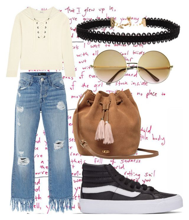 """""""La hipster"""" by imcute1550 on Polyvore featuring Madewell, 3x1, Vans, Vanessa Mooney, UGG and ZeroUV"""
