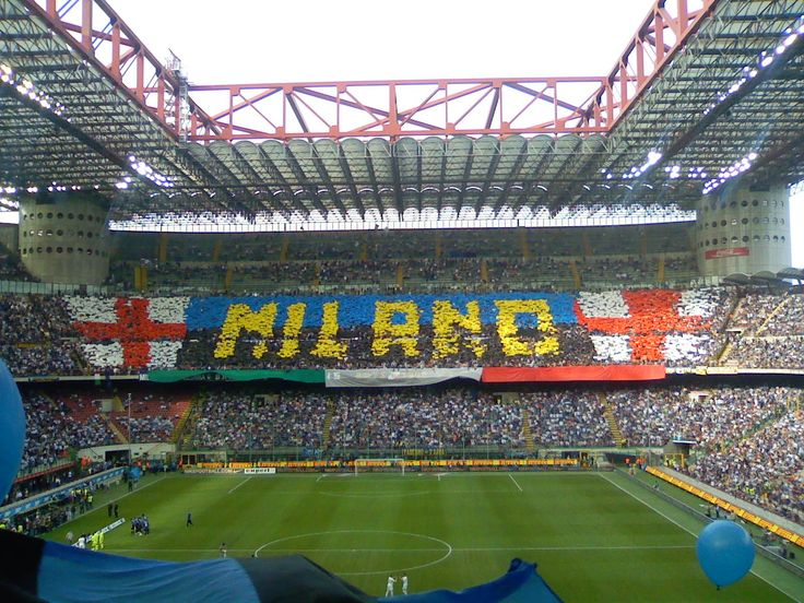 Stadio Giuseppe Meazza, better known as the San Siro, home of both Italian giants A.C Milan and F.C Internazionale. Undoubdetly one of my favourite stadiums. Must be a real privilige to play at such a tremendous setting.