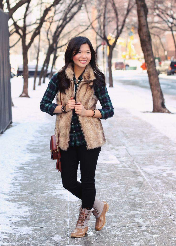 Jenny In Jacquard Nyc Fashion Blog Style Blogger Winter Snow Outfit Photos J Crew Green