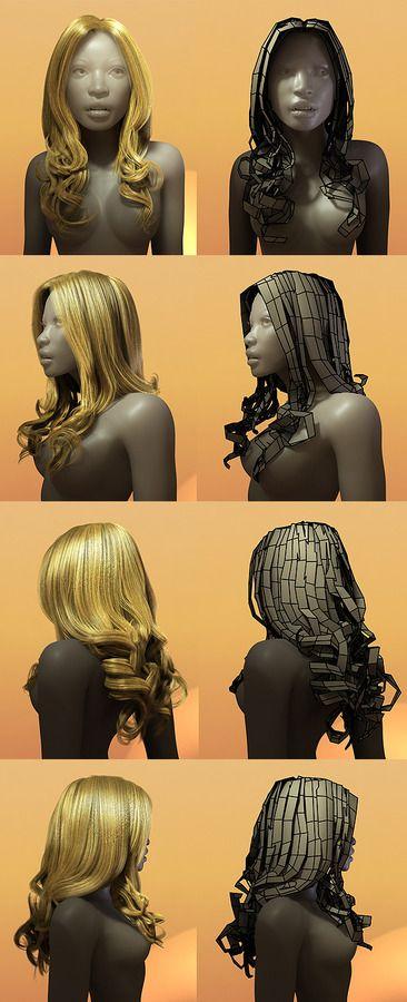 Hair Style 003