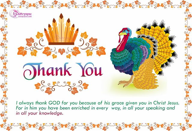 Happy Thanksgiving Day Wishes Card with Quote Greetings Wallpapers Free Online Picture of Thanksgiving Day