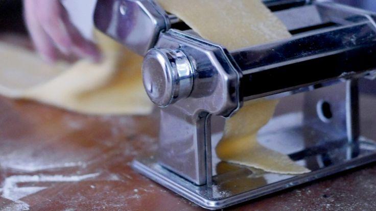 Pasta machine!