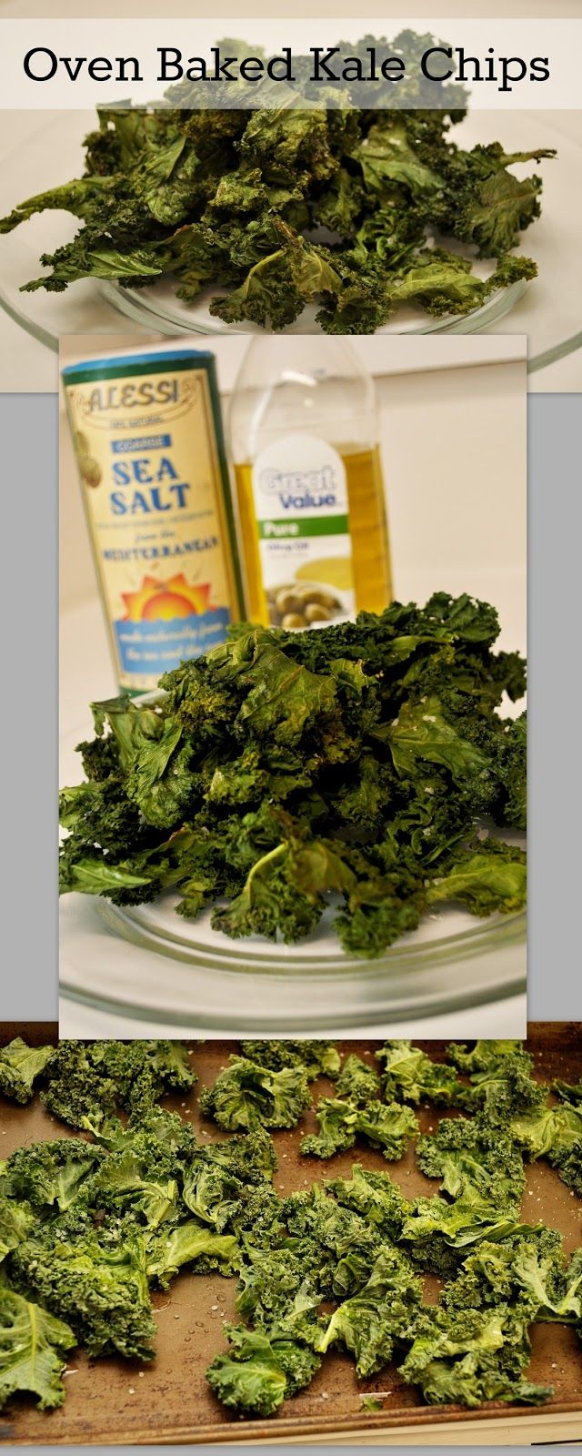Housewife Eclectic: Oven Baked Kale Chips
