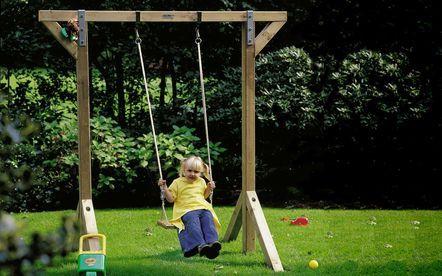Buiten spelen - Kinderschommel Enkel