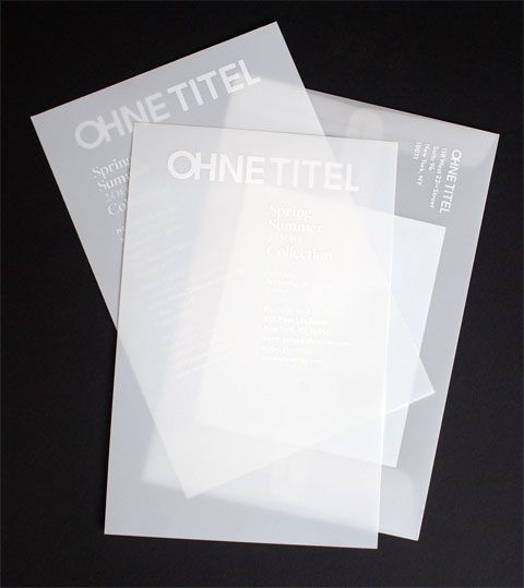 Translucent paper, white ink silk screen printing with gloss medium