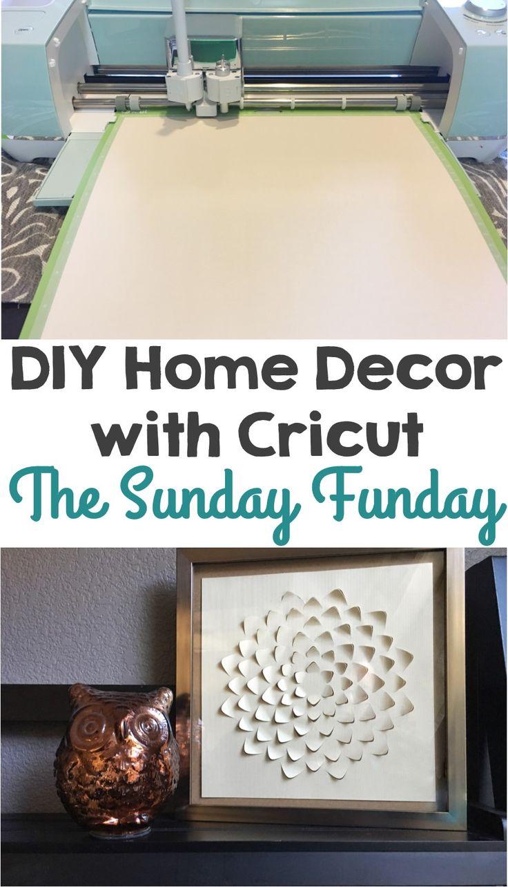 Attractive Cricut Home Decor Projects