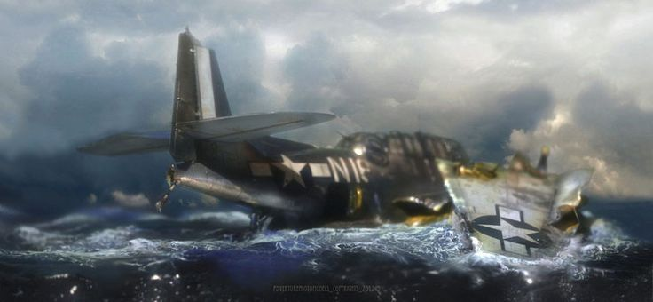 TBF/TBM 1 Grumman Avenger - Italeri kit 1:48 scale model : chroma key effect sample