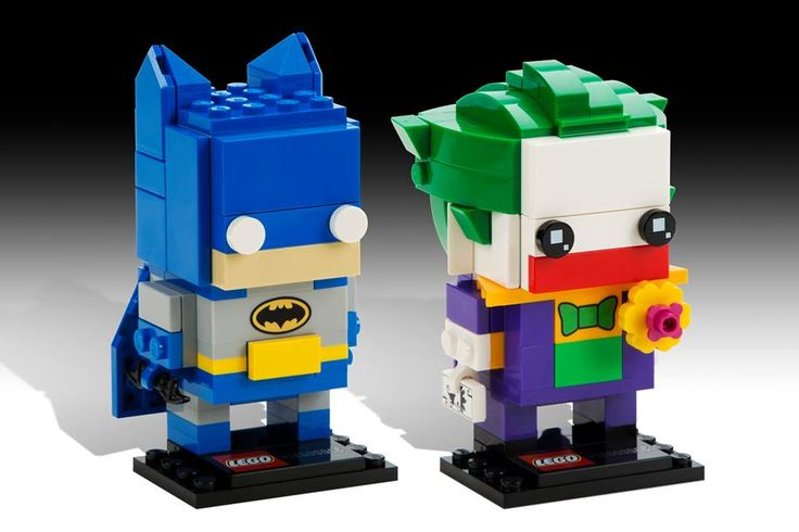 LEGO BrickHeadz Batman and Joker. SDCC exclusives for now, comeing to stores in 2017.