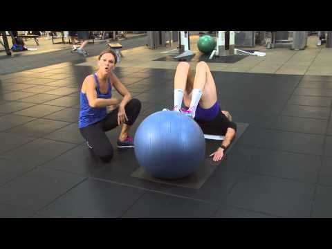 (85) Kerri Walsh Jennings workout tips - The Ball Roll Out - YouTube