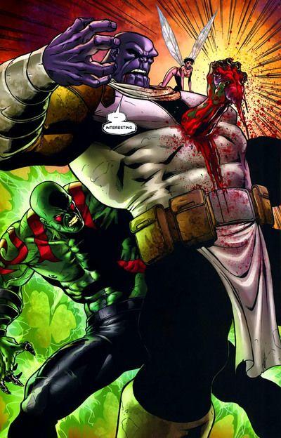 A morte de Thanos - The Thanos Death - Marvel