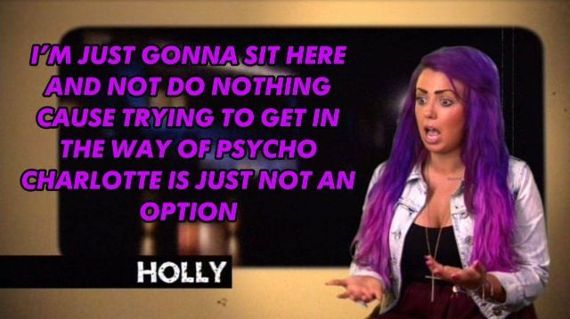 geordie shore / holly