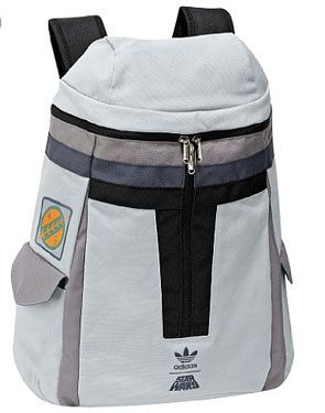 Adidas, Star Wars, Boba Fett Helmet backpack. I just bought it, and I love it!