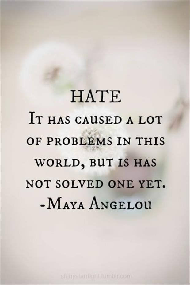 702 best hate haters bullying images on pinterest truths the hate solves nothing malvernweather Gallery