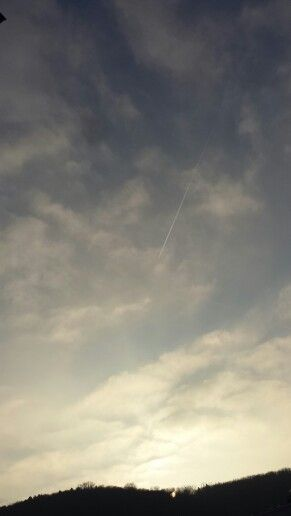 This was really peacefully beautiful.. #Sky #سماء #空 ♡
