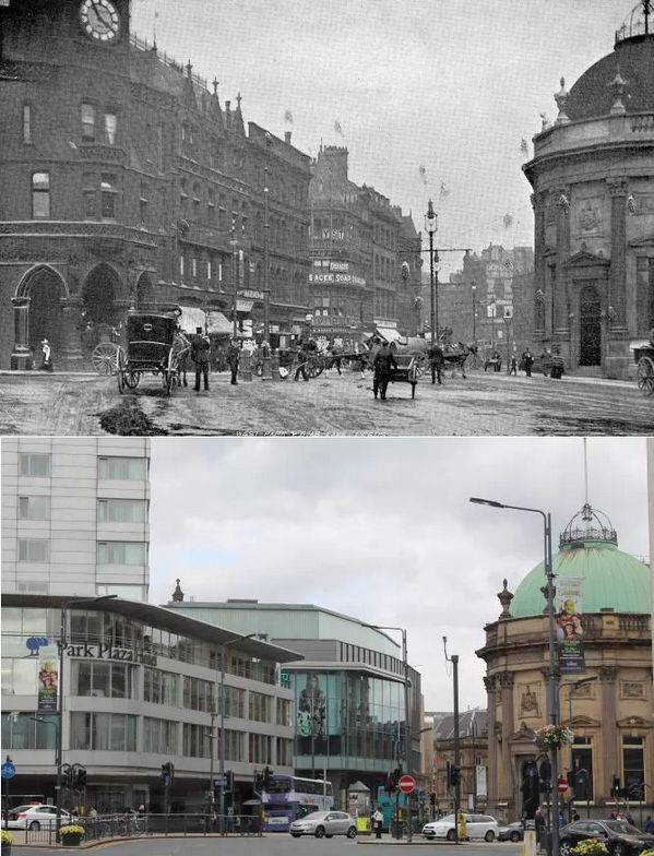 Leeds then & now
