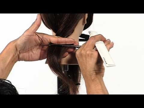 Twist Cutting Technique: Nape - YouTube