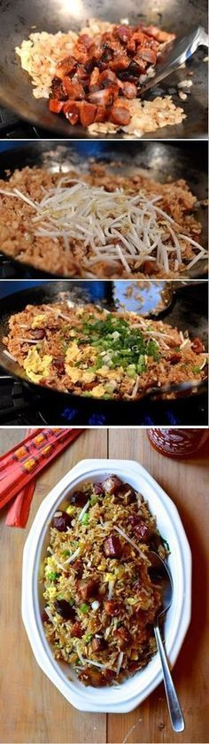 Classic Pork Fried Rice Recipe by The Woks of Life #chinesefoodrecipes